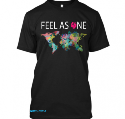 Feel As One T-Shirt black