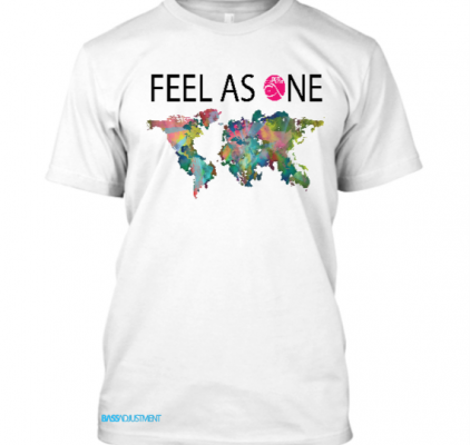 Feel As One T-Shirt white