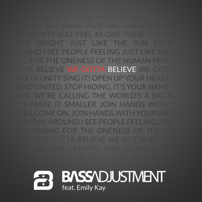 Bass Adjustment - Believe cover art